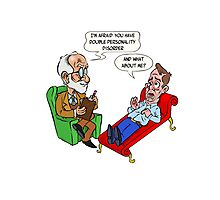 Freud - Double personality Photographic Print