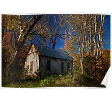 Old Cabin of Boxley Poster
