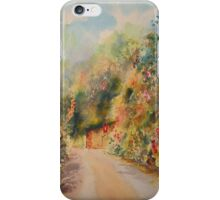 Hythe - Hillside street iPhone Case/Skin