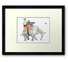 giant olive shooter Framed Print