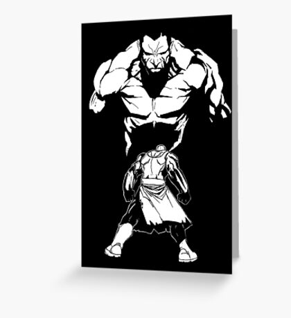 Show me how the Gods KILL Greeting Card