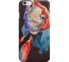 Fish in a linen shirt iPhone Case/Skin