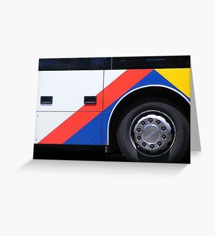 Primary Transit Greeting Card