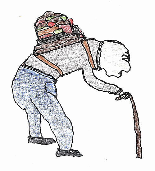 old man burden by dthaase