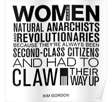Women are Natural Anarchists. Poster