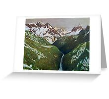Everest view Greeting Card
