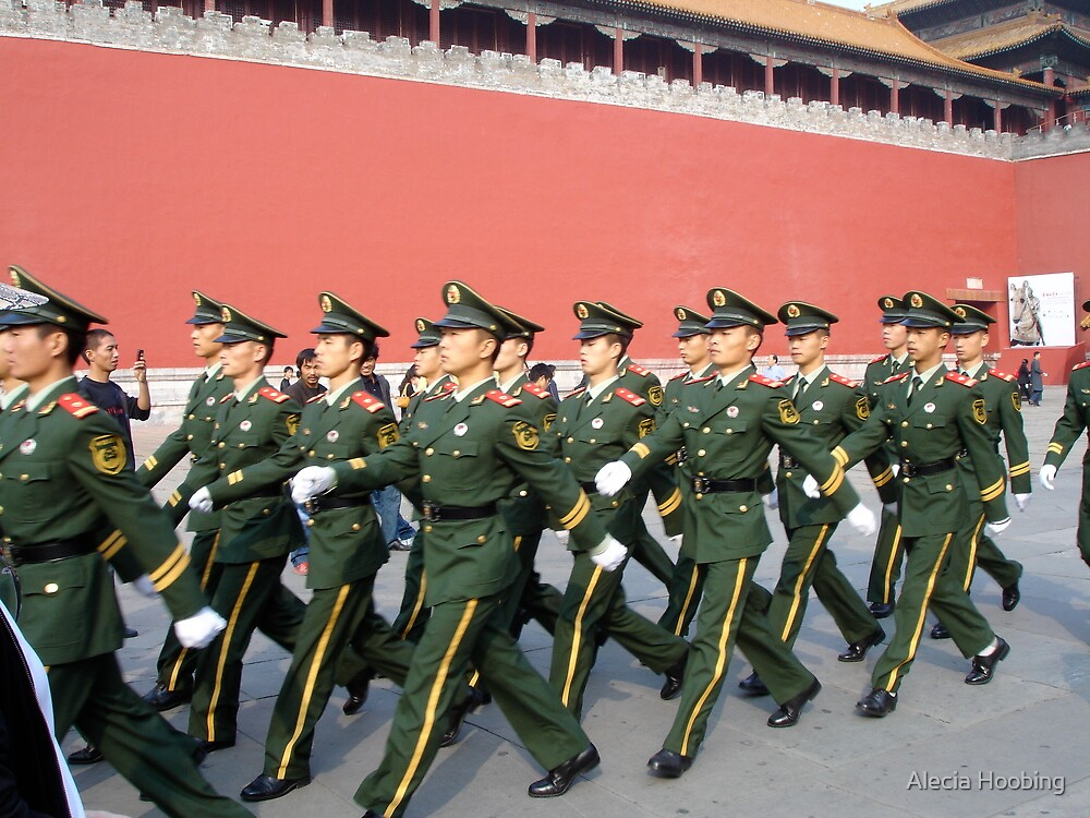 Marching in the Forbidden City by Alecia Hoobing