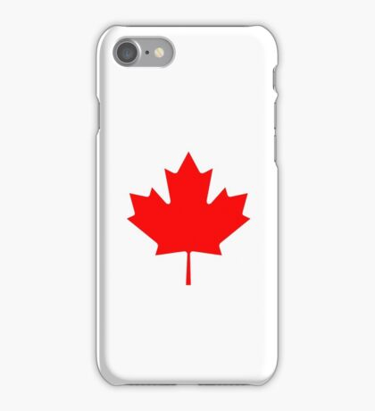 Maple Leaf Bedspread - Canadian Symbol Canuck Icon iPhone Case/Skin