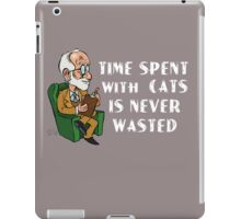 Freud about Cats  iPad Case/Skin
