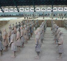 Xian Terracotta Soldiers by Alecia Hoobing