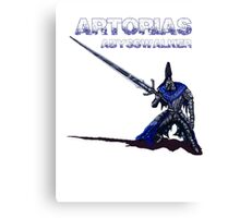 Artorias Pixel Walker Canvas Print