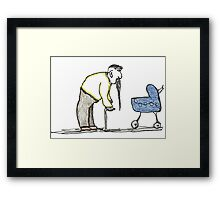 going Framed Print