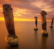 Sentinels - Clifton Springs by Hans Kawitzki