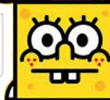 Spongebob and milo Sticker