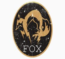 Metal Gear Solid - FOX Logo by Shoro Kids Clothes