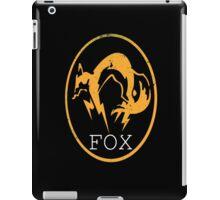 Metal Gear Solid - FOX Logo by Shoro iPad Case/Skin