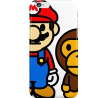 mario and milo iPhone Case/Skin