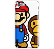 mario and milo iPhone Case/Skin