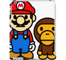 mario and milo iPad Case/Skin