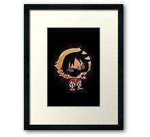 Cute Chibi Pirates Framed Print