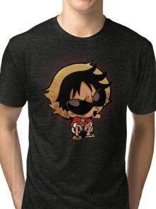 Cute Chibi Pirates Tri-blend T-Shirt
