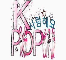 Love KPOP Women's Fitted Scoop T-Shirt