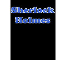 Sherlock Holmes Sticker - Conan Doyle T-Shirt Photographic Print
