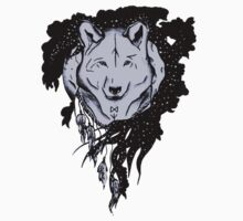 Wolf in a moonlight Baby Tee