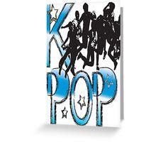 LOVE K-POP MUSIC Greeting Card