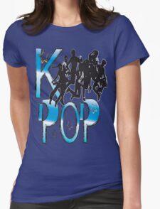 LOVE K-POP MUSIC Womens Fitted T-Shirt