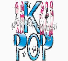 K-POP took my heart Men's Baseball ¾ T-Shirt
