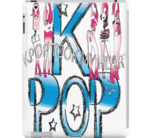 K-POP took my heart iPad Case/Skin