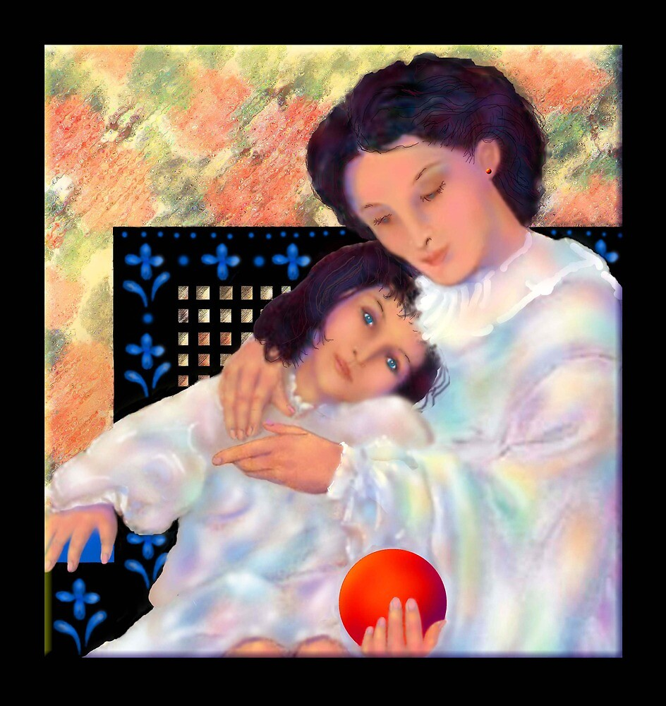 'Just Us Girls', A Mother and Daughter's Love  by luvapples downunder/ Norval Arbogast