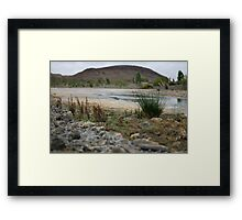 Fortescue River bed Framed Print