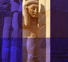 Hatschepsut  - Egyptian Pharaoh by Marlies Odehnal