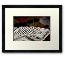 4/365 Monopoly Money Framed Print