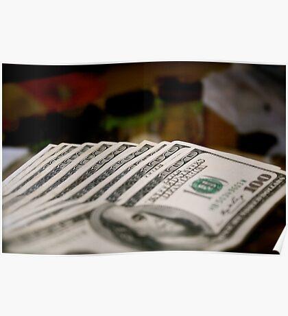 4/365 Monopoly Money Poster