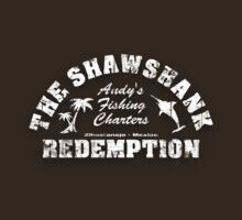 Andy's Fishing Charters - The Shawshank Redemption by robotrobotROBOT