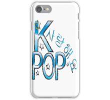 Sarang hae yo KPOP iPhone Case/Skin