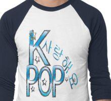 Sarang hae yo KPOP Men's Baseball ¾ T-Shirt