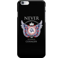 Never Underestimate The Power Of Cohagen - Tshirts & Accessories iPhone Case/Skin