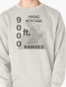 Hiking Montana Ranges T-Shirt