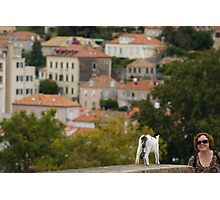 on the walls of Dubrovnik Photographic Print