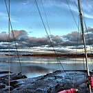 Through the Rigging . by Lilian Marshall
