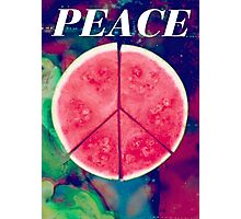 Peace Ep Delicious Photographic Print