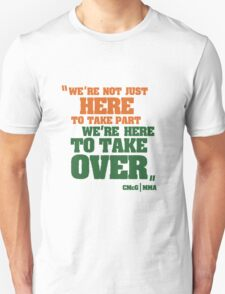 Conor McGregor - Quotes [TakeOver] T-Shirt