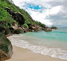 Moyenne Island Beach, Seychelles by Cindy Ritchie