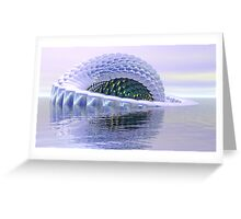 Reflective Unreality Greeting Card