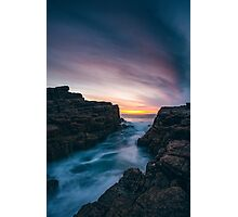 Seascape Sunset Photographic Print