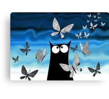 Paper Butterflies  Canvas Print
